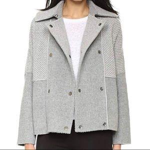 Vince Boucle Wool Coat